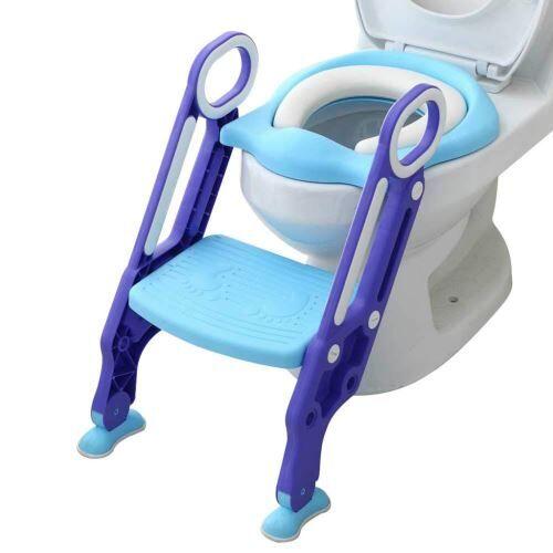 Toilette Bébé Enfant Petit Pot Siège Escabeau Échelle Chaise de Formation Réglable YEZB188 - Autre mobilier bébé