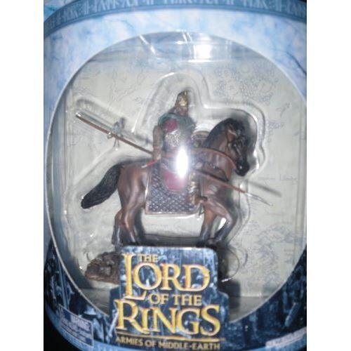 Non communiqué Armée de la Terre du Milieu, Seigneur des Anneaux - Cavalier de Rohan, figure 124, échelle - Autres figurines et répliques