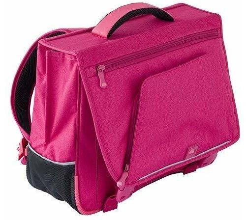 delsey scolaire schoolbag cartable, 38 cm, rose - autres figurines et répliques