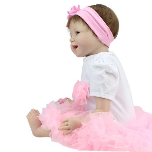 Nouveau-55cm Poupée Enfants Né Playmate Fille Cadeau d'Anniversaire Wapl014 - Poupée