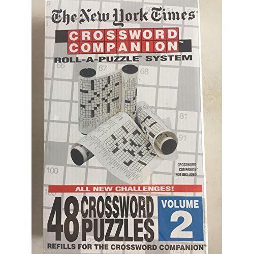Unknown Les mots croisés du New York Times Companion - Recharge de casse-tête, volume 2 - Autre Puzzle