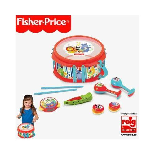 FISHER PRICE Tambour musical - Instruments de musiques