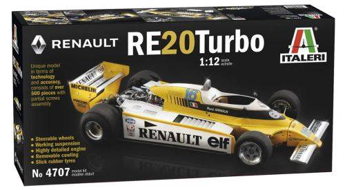 Italeri Maquette Voiture Maquette Camion Renault Re20 Turbo - Circuit voitures