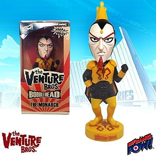 Non communiqué Bif Bang Pow Venture Bros. Dr. Mme The Monarch Bobble Head - Petite figurine