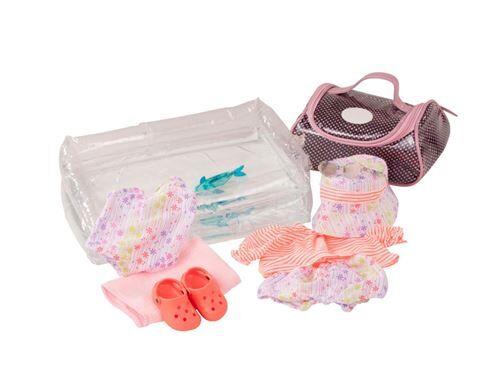 Gotz - Ensemble bébé, jours ensoleillés, 9-pièces - Accessoire poupée