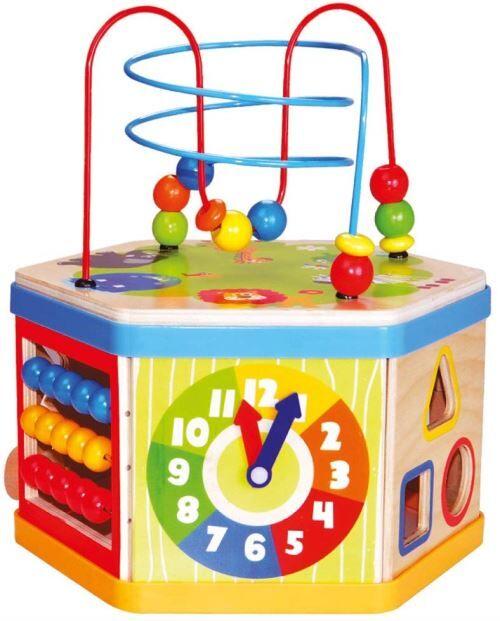 Bino 1 84186 7-In-1 d'Activité Cube - Version Anglaise - Jeux d'éveil
