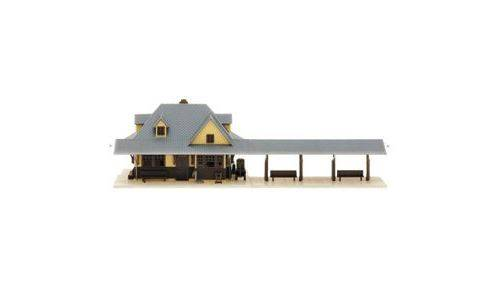 ATLAS MODEL 2842 Passenger Station Platform Kit (2) N - Train électrique