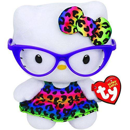 Beanie Babies Ty Hello Kitty - Lunettes violettes - Animal en peluche