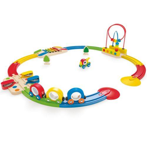 HAPE Playset Hape Mon premier circuit musical - Circuit ou accessoire train en bois
