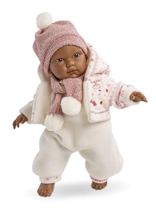 Llorens 30005 – Vin Fin Poupée bébé cuqui, 30 cm - Accessoire poupée