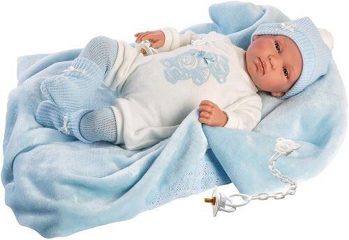 LLORENS 84427 Tino PoupÊe pour bÊbÊ Beige 43 cm - Accessoire poupée