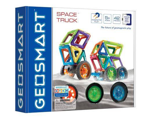 Geosmart - GEO 301 Le Camion Spatial - 42 Pièces Mixtes avec Roues - Autres jeux de construction