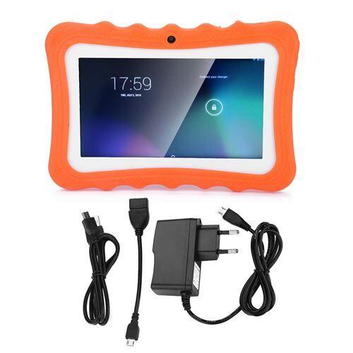 non communiqué my-q768 mini tablette tactile enfant 7 po orange - tablettes éducatives