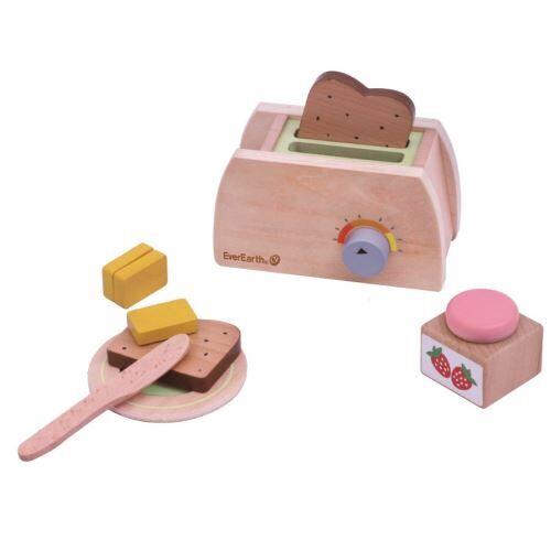 Everearth set de petit-déjeuner 9-pièces - Autres jouets en bois
