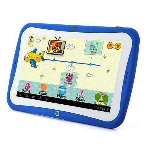 yonis tablette tactile enfant jouet éducatif 7' android jelly bean yokid bleue 8 go - yonis - tablettes éducatives