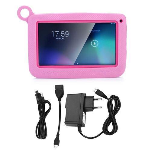 non communiqué my-q758 mini tablette tactile enfant wifi 512m ram & 8gb rom 7 pouces rose - tablettes éducatives