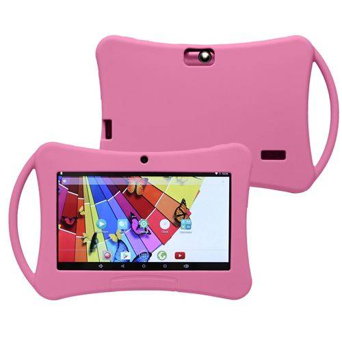 yonis tablette tactile enfant android 5.1 7 pouces wifi bluetooth éducative rose 12go - yonis - tablettes éducatives