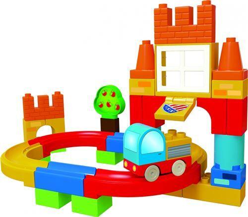 Non communiqué Unico Hippodrome avec voiture 38-pièces - Autres jeux de construction