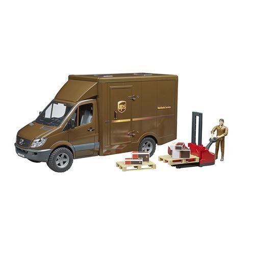 Bruder 02538 Mercedes Benz Sprinter Véhicule de livraison UPS - Autre circuit / véhicule