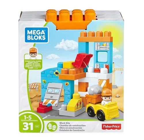 mega bloks jeux de construction, ffg33, multicolore - autres jeux de construction