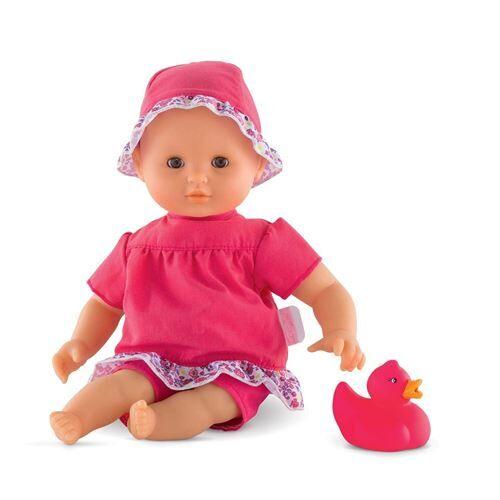 Corolle FPK03 - Bébé Bain Fleurs - Accessoire poupée