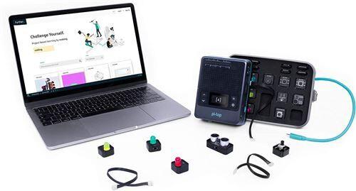 Non communiqué pi-top [4]: ordinateur avec Raspberry Pi 4 - Apprenez la science, la technologie et le codage pour enfants, compatible LEGO - Autres jeux de construction