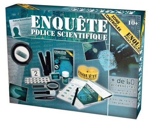 LGRI Enquete police scientifique - kit de jeu scientifique - Autres jeux de construction