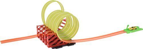Non communiqué Free and Easy hippodrome inc. voiture avec lumière 97 cm orange/vert - Circuit voitures