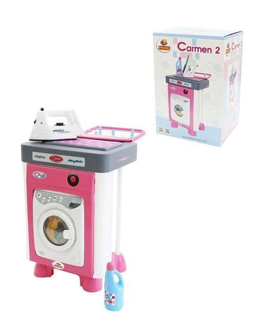 Polesie Polesie57907 Carmen Little Machine à Laver Jouet - Ménage nettoyage