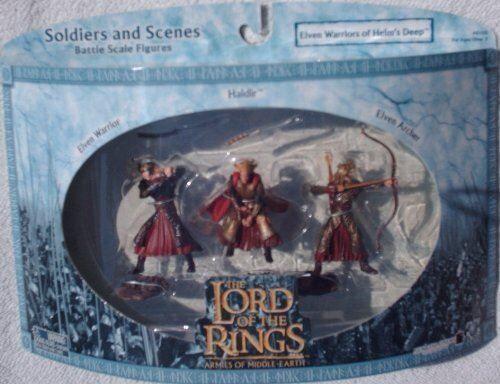 Non communiqué Le Seigneur des Anneaux Armées de la Terre du Milieu - Guerrier Elfe, Haldir, Archer Elven - Autres figurines et répliques