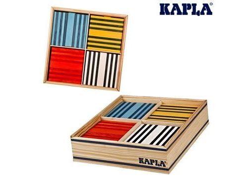 Kapla Jeu De Construction Kapla 100 Planchettes Octocolor 8 Couleurs - Autres jeux de construction