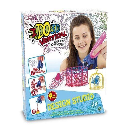 non communiqué ido 3d – lot de 4 stylos (giochi preziosi ddd02000) jolies créations miscelanea - accessoire poupée