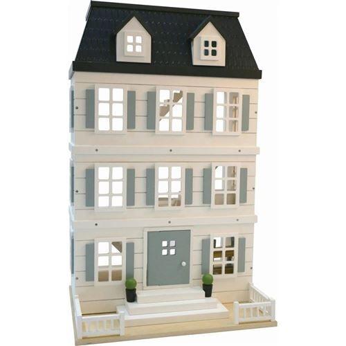 Everearth maison de poupée 55 x 40 x 82,5 cm - Maison de poupée