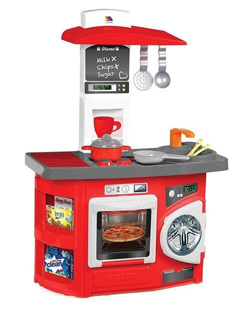 Molto - 2077515 - Mini-cuisine De Jeu - Rouge - Ménage nettoyage