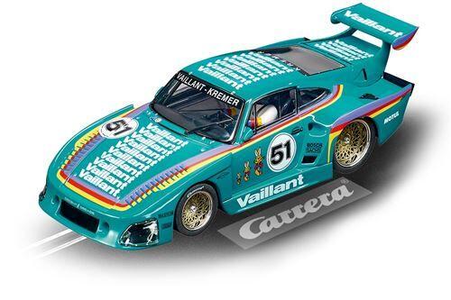 Carrera Digital 132 voiture d'hippodrome 1Porsche Kremer 935 K3:32 vert menthe - Voiture
