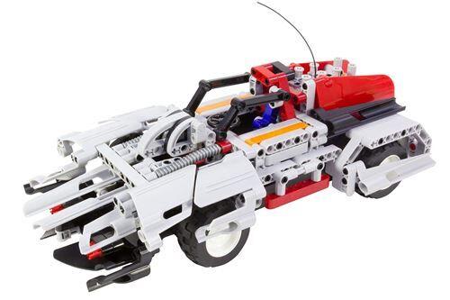 teknotoys - 85000016 - jeux de construction télécommandé - active bricks rc - 2 en 1 - voiture de sport set - circuit voitures
