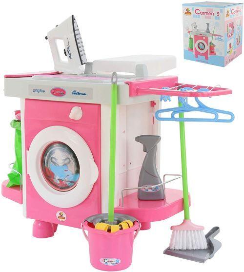 Polesie 58843 à Linge Playset Box – Cook et de Jeu Jouets - Ménage nettoyage