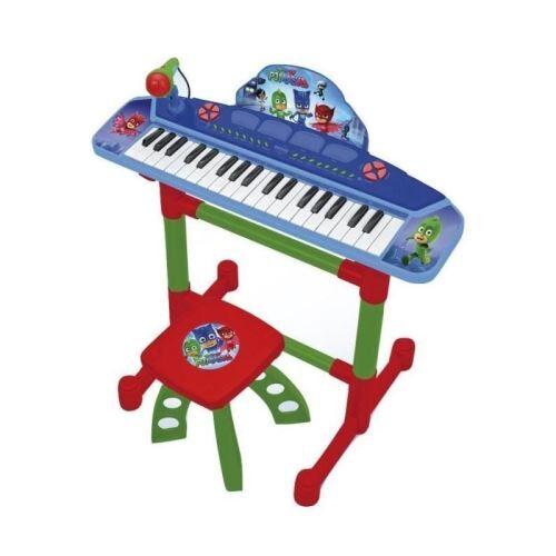 reig pjmasks clavier électronique - 4 effets de percussion - 8 instruments - 8 rythmes - autres