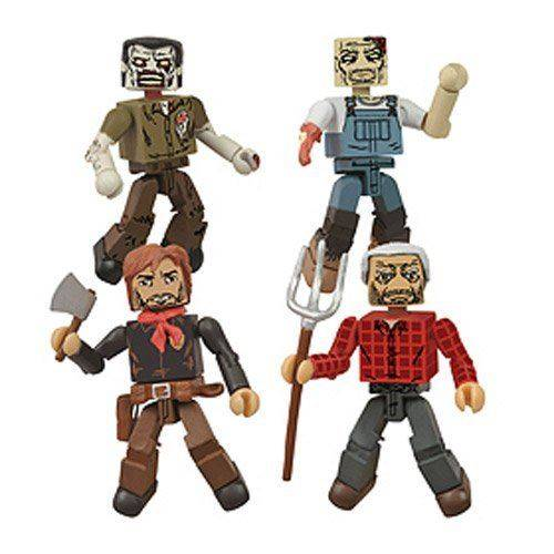 DIAMOND SELECT TOYS Coffret San Diego Comic-Con 2013 Coffret Minimates de la ferme de The Dead Dead Hershels - Autres figurines et répliques
