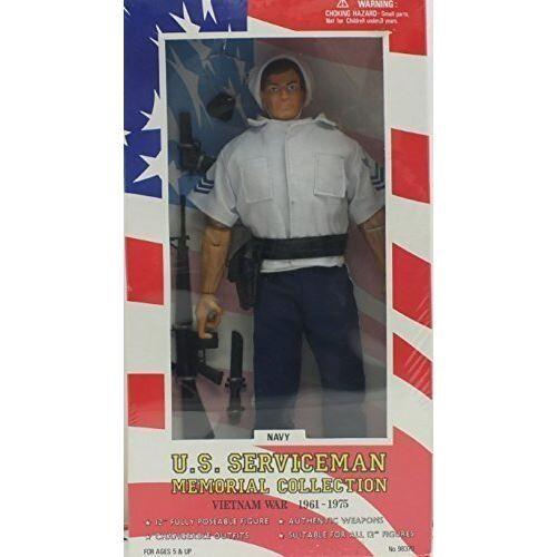 Non communiqué Difficile à trouver 1996 K-Mart Exclusive.Officier marinier de la collection de soldats américains.Guerre du Vietnam 1961-1975 - Autres figurines et répliques