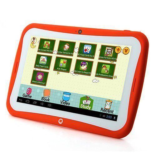 yonis tablette tactile enfant jouet éducatif 7' android jelly bean yokid orange 8 go - yonis - tablettes éducatives