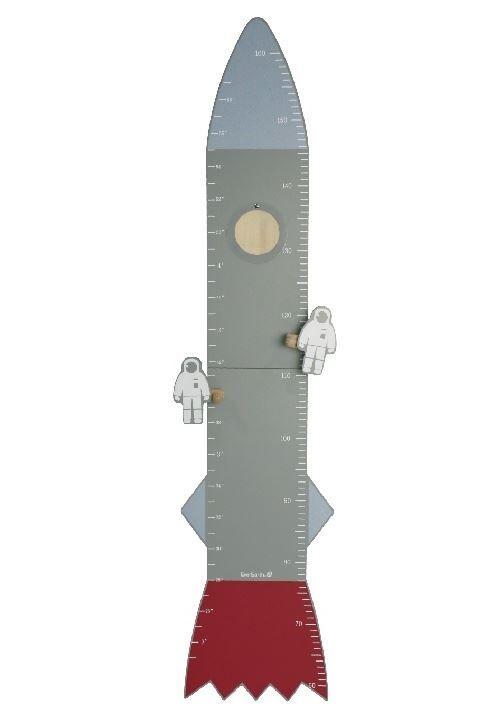 Everearth Bande de mesure bois gris fusée 118 cm - Autres