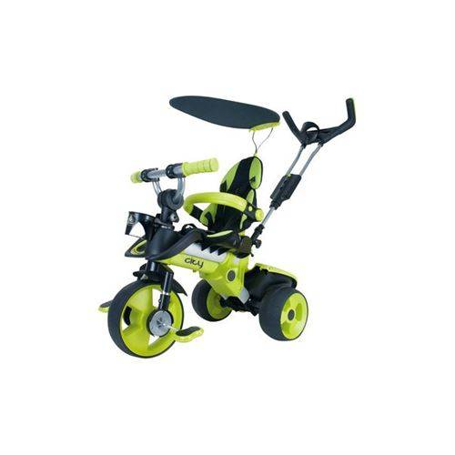 Injusa Tricycle évolutif Trike City vert - Tricycles
