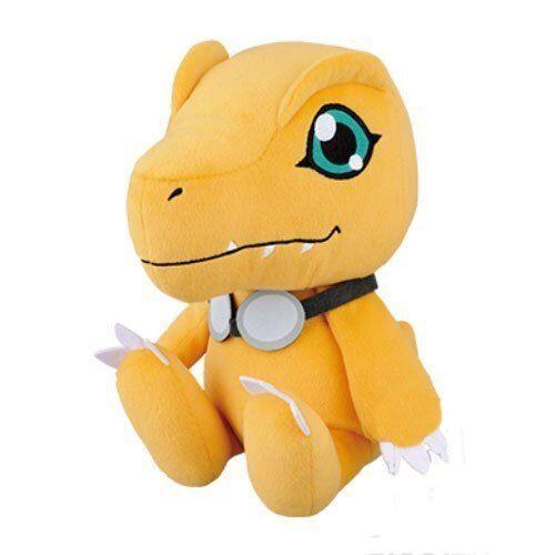 Banpresto Digimon Adventure tri.Agumon énorme a bourré Taichi de lunettes de protection ver. - Ours en peluche