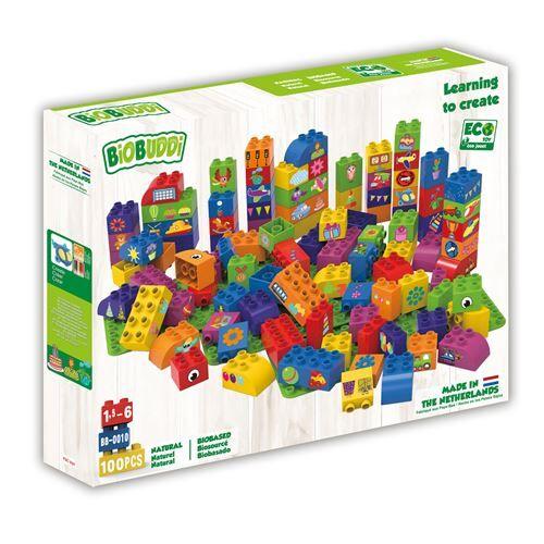 Non communiqué BiOBUDDi blocs avec 3 plaques de base - 100 pièces (BB-0010) - Autres jeux de construction
