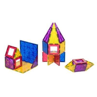 Playmags - 165 - coffret primé playmags pour enfant avec tuiles de 6 formes différentes - 32 pièces - Autres jeux de construction