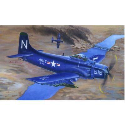 Trumpeter Maquette avion : douglas a-1d ad-4 skyraider 1953 trumpeter - Maquette
