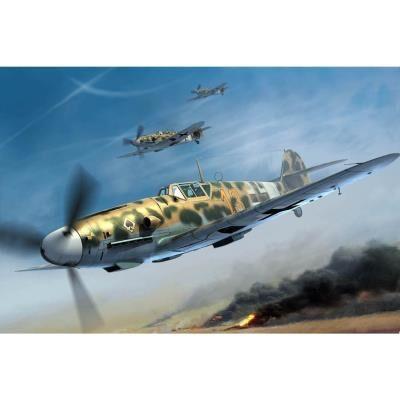 Trumpeter Maquette avion : messerschmitt bf 109g-2-trop trumpeter - Maquette