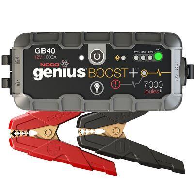 noco gb40 genius ultrasafe démarreur/chargeur de batterie lithium - 12 v, 1000 amp - voiture