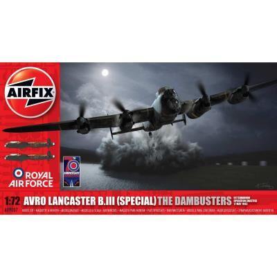 Airfix Maquette avion : avro lancaster b.iii (special) the dambusters airfix - Maquette